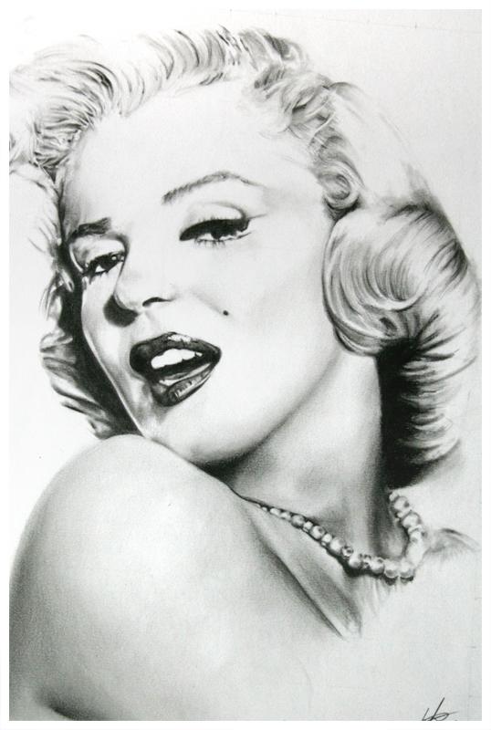 Marilyn Monroe by bulletinthegun