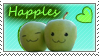 Happles Stamp by arsh-stamps