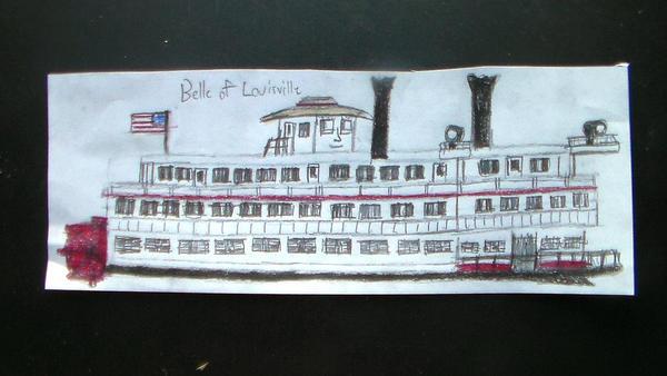 Belle of Louisville by TheMrtraintrack