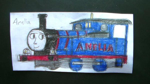 Amelia by TheMrtraintrack