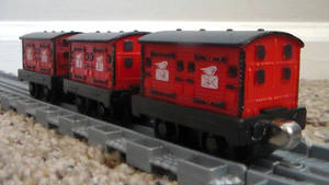 Custom Converted Pull-n-Zoom Mail Coaches