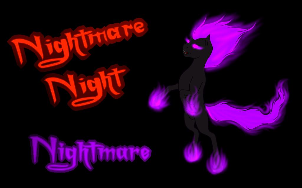 Nightmare Night - Nightmare Background by Flutterknight