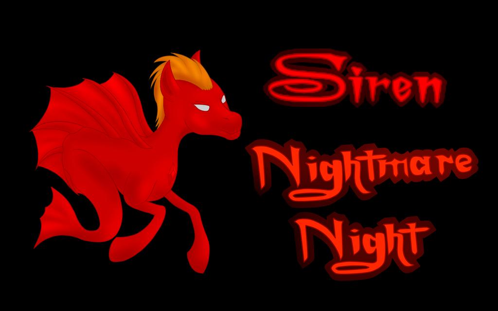 Nightmare Night - Siren Background by Flutterknight