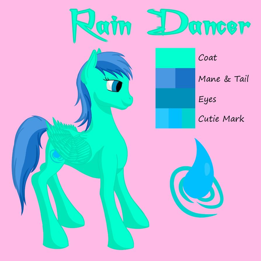 New Rain Dancer Reference by Flutterknight
