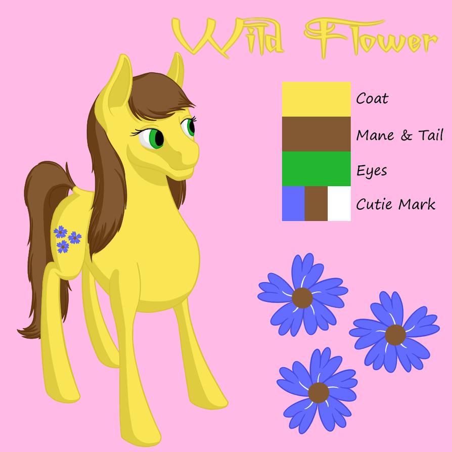 New WIld Flower Reference by Flutterknight