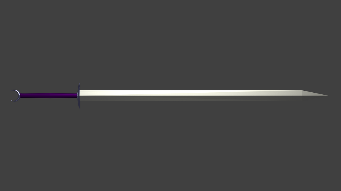 Moon Sword by Flutterknight