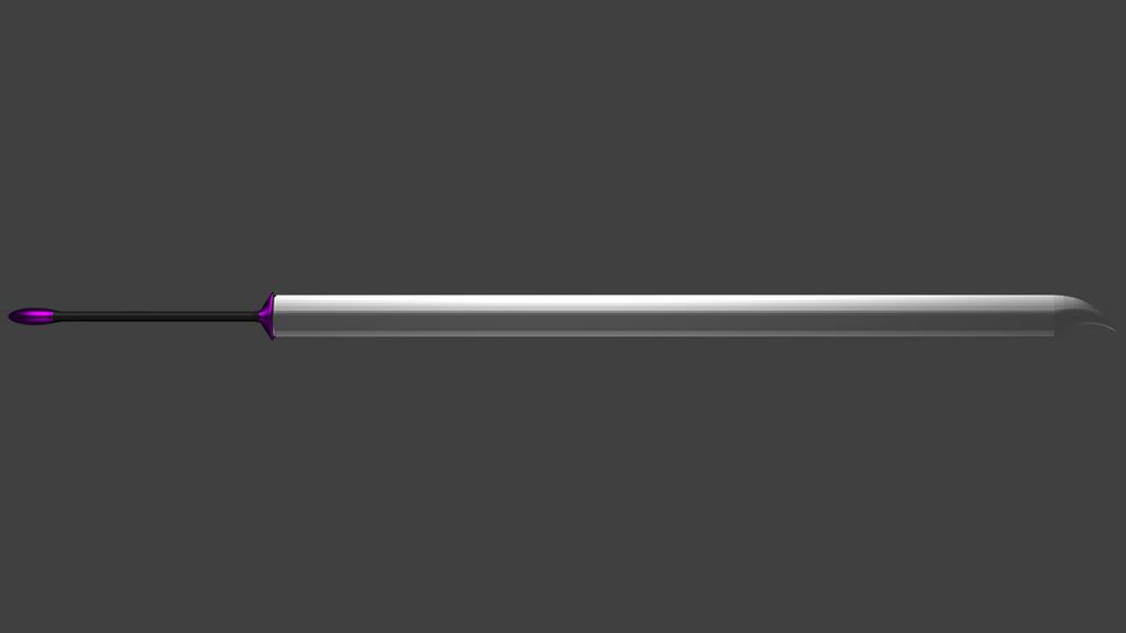 Arcana's Third Sword by Flutterknight