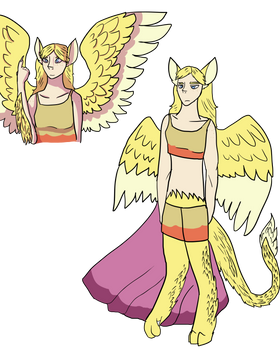 Sphinx oc concept