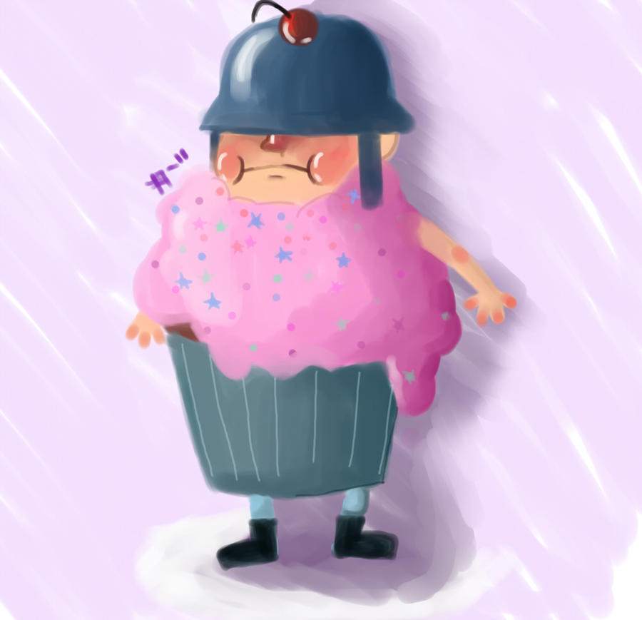 Mr. Sollycake. by Annalaatikko on DeviantArt I Am Painis Cupcake I Will Eat You