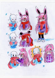 Scarf (mini comic) by kimitsuNagita