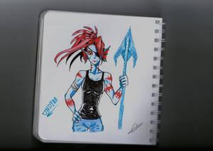 Undyne (anime style)