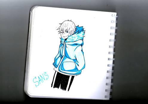 Sans (anime style)