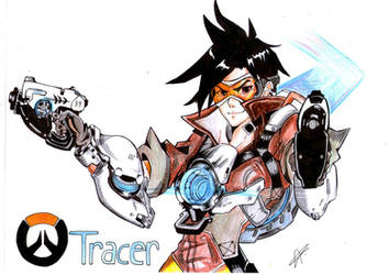 (Overwatch) Tracer By Blizzard Entertainment by kimitsuNagita
