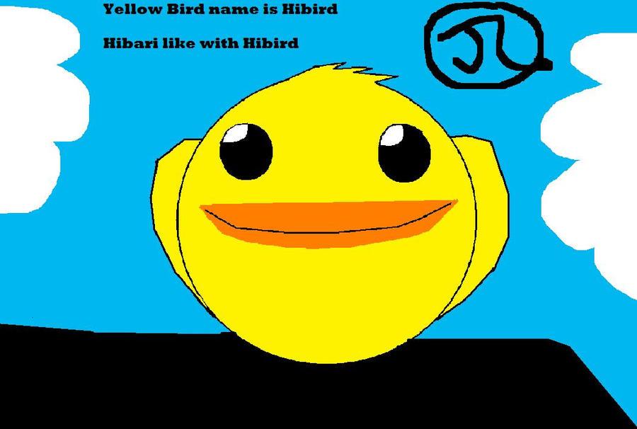 Yellow Bird Name Khr Yellow Bird Name is Hibird by Bluedragoncartoon