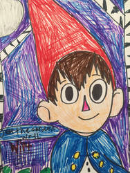 over the garden wall wirt by Bluedragoncartoon