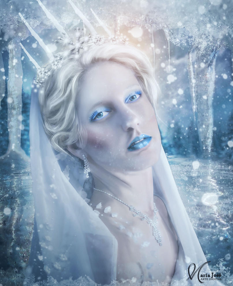 The sadness of the ice queen by Eithen