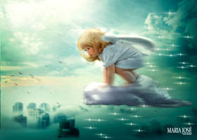 Baby angel by Eithen