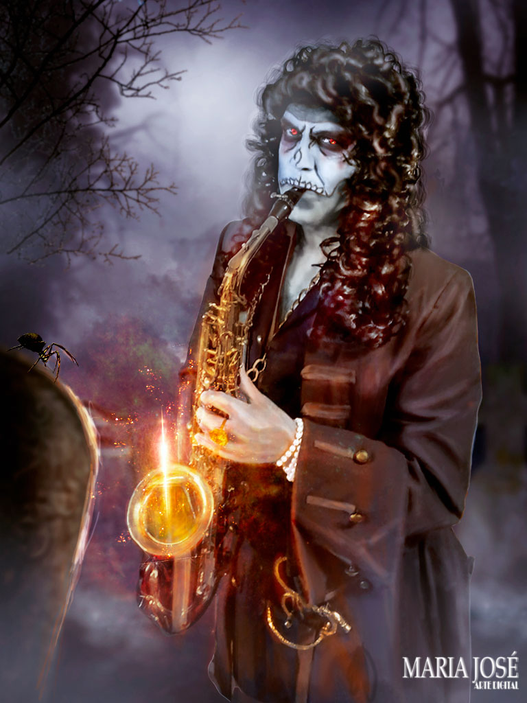 Scary musician