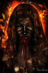Demon portrait by Eithen
