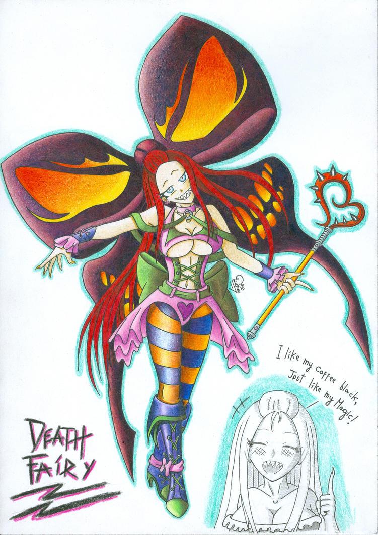 OC: Lene the Death Fairy by Ludra90