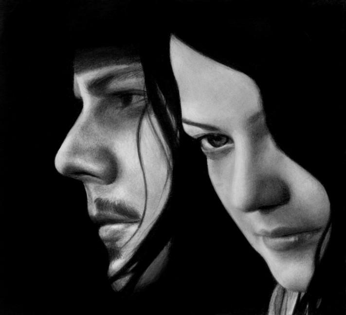 Mr and Mrs White by elisabethsmenesfrost