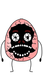 Flumpty Bumpty (Cracked open Face)