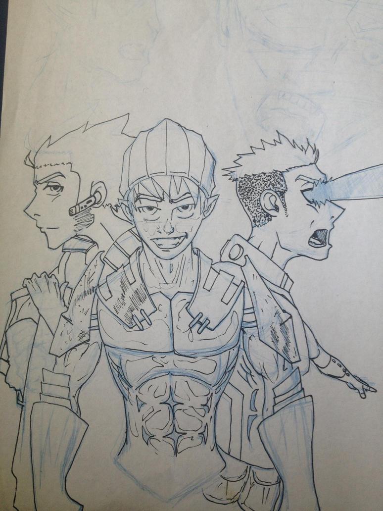 Heroes by rahmeese