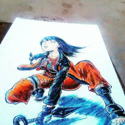 hinata from naruto fan art