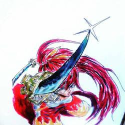 fairytail erza scarlett fan art
