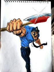 axe cop fan art