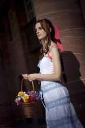 Final Fantasy: Flowers in Midgar by Ansuchi
