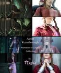 Aerith Gainsborough: Animation vs Cosplay