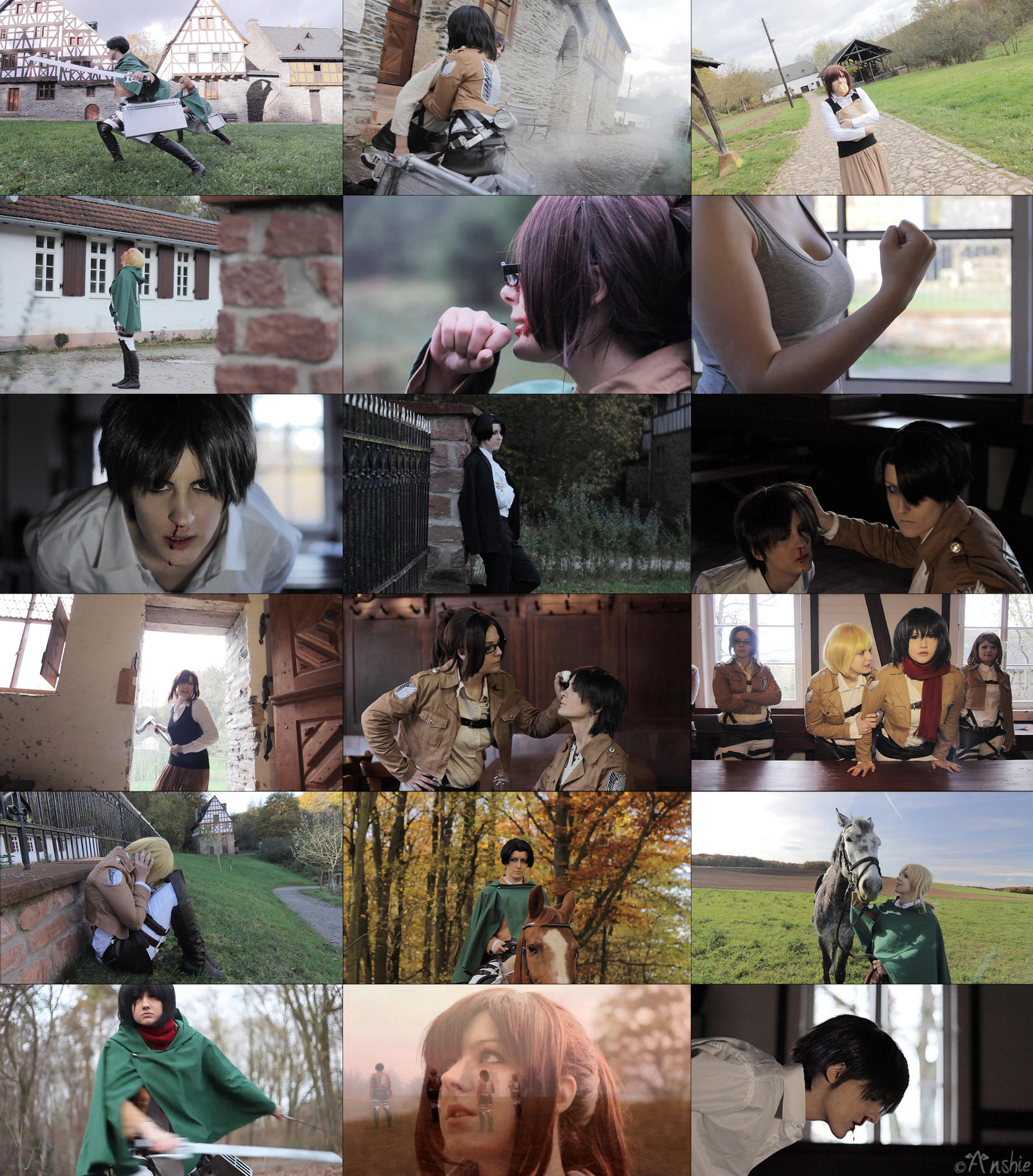 Shingeki no kyojin: Shingeki no CMV teaser by Ansuchi
