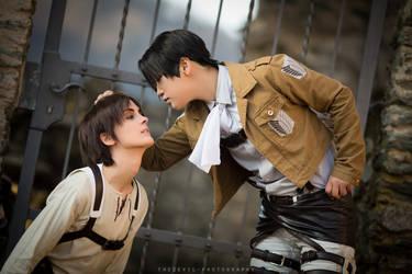 Shingeki no kyojin: How to tame your titanboy by Ansuchi