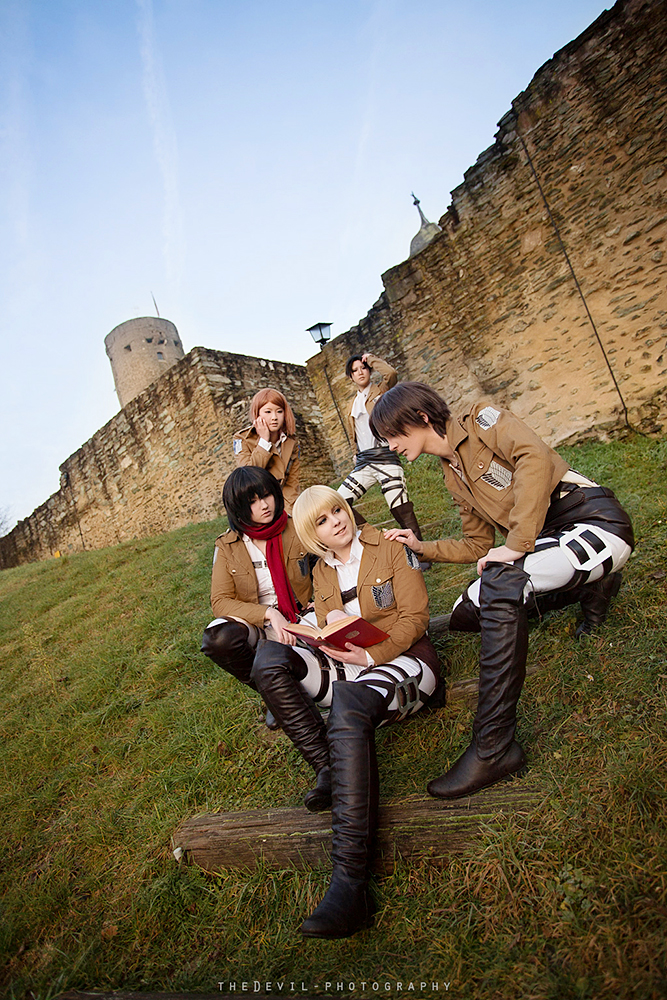 Shingeki no kyojin: Survey Corps by Ansuchi