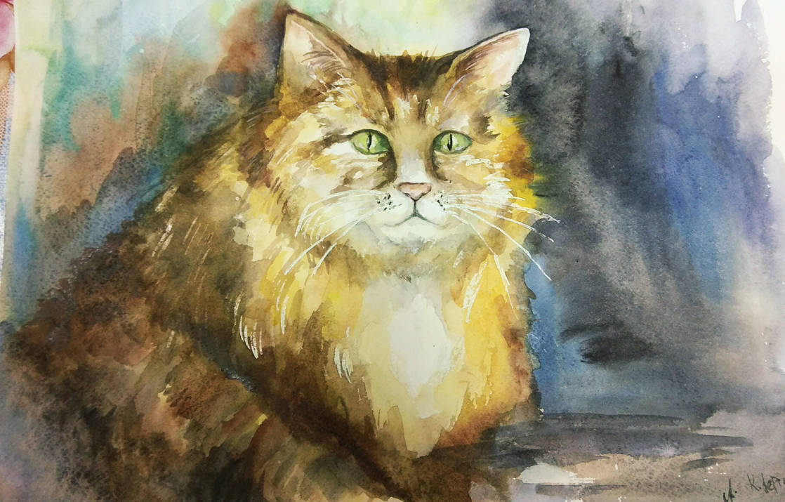 Ginger cat by Le-ARi