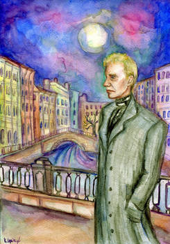Evening in Saint-Petersburg