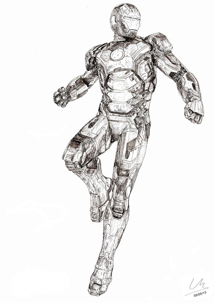 Iron Man Mark XLII by loickmaire on DeviantArt