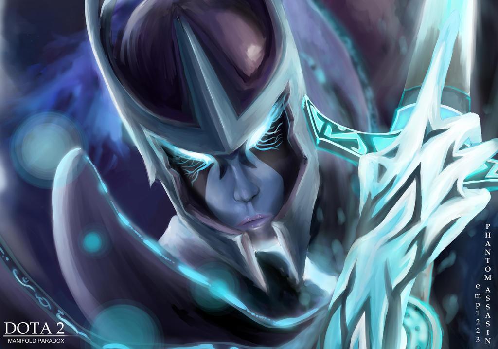 dota 2 phantom assassin arcana by emp1223 on deviantart