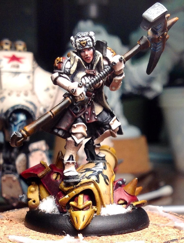 Forward Kommander Sorscha by cbomb13