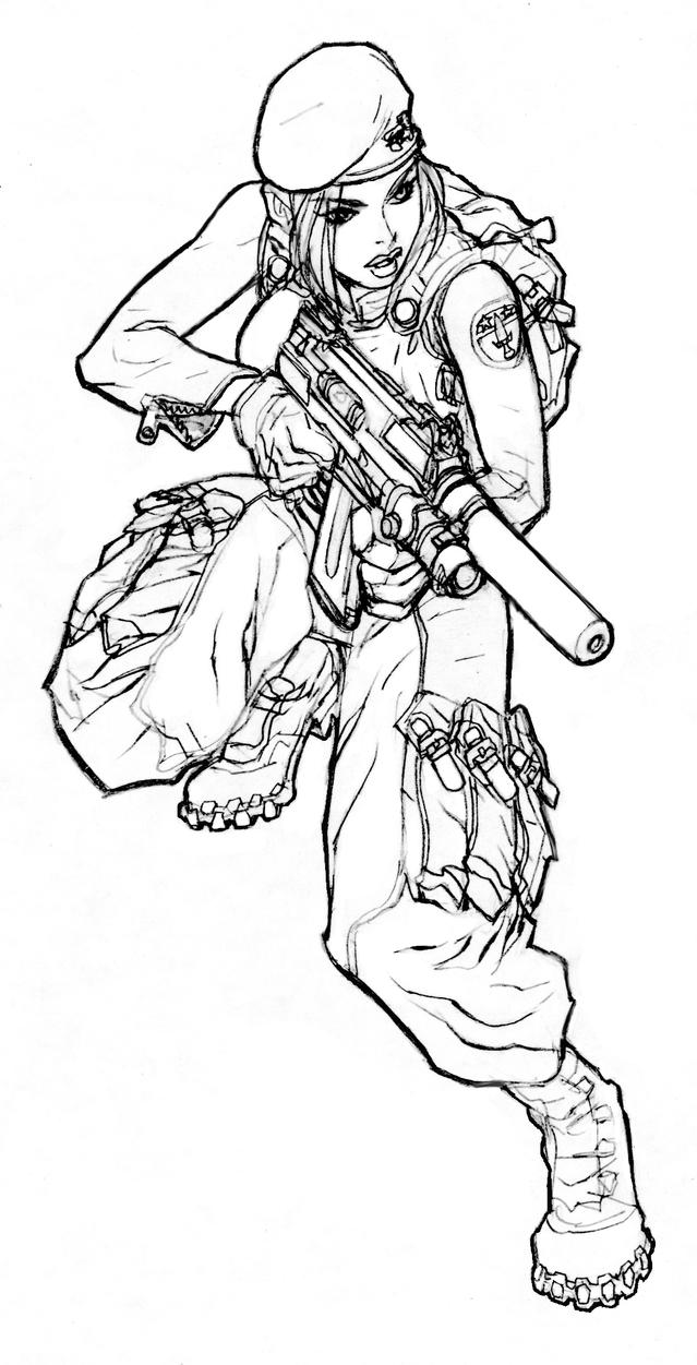 Special coloring pages ~ Special Forces by DanNortonArt on DeviantArt