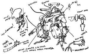 Lizardmech concept 1