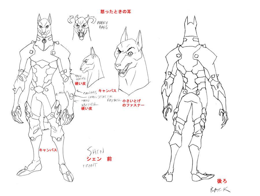 Shen concept 1 by DanNortonArt