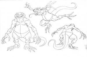 Lizard Tracker concept Sauro 1 by DanNortonArt