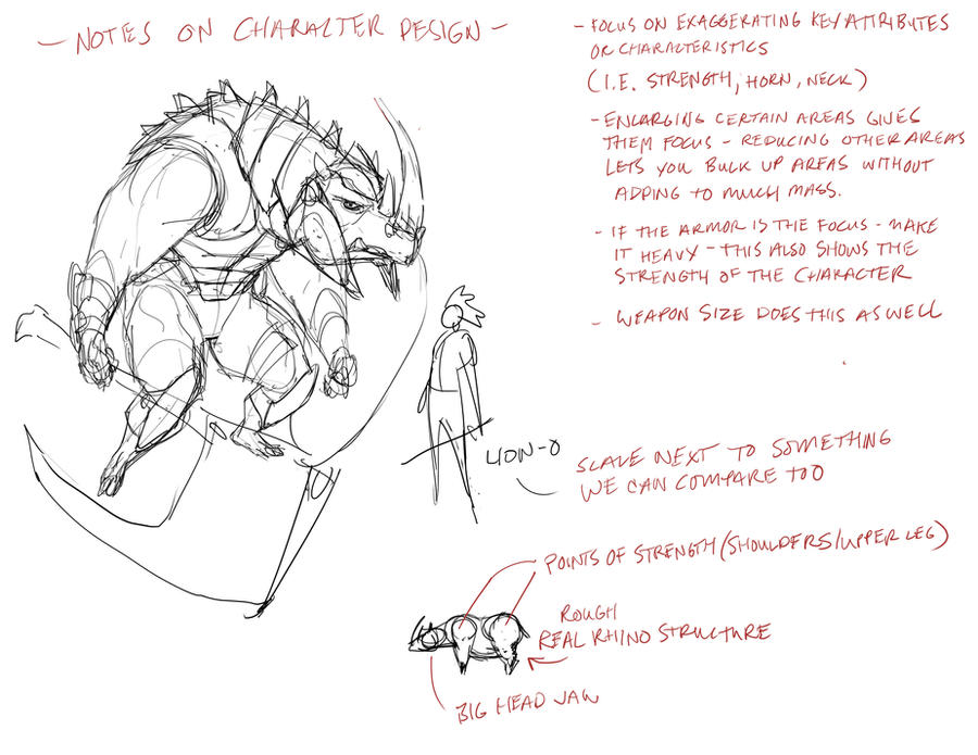 Character Design Notes Spot : Character design notes by dannortonart on deviantart