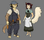 WilyKit and WilyKat's parents concept
