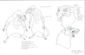 Rat men concepts by DanNortonArt
