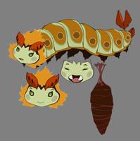 Lucy Caterpillar concept 2 by DanNortonArt
