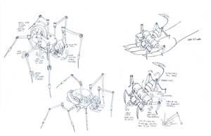 Necromech concepts 1 by DanNortonArt