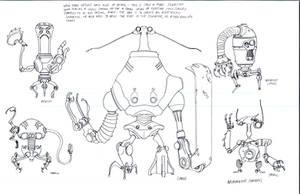 Necromech concepts 2 by DanNortonArt